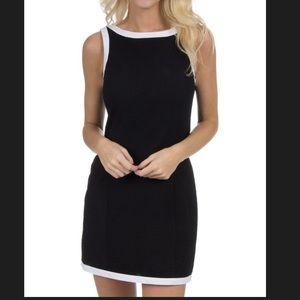 Lauren James Harper Solid Seersucker Dress w/ Trim